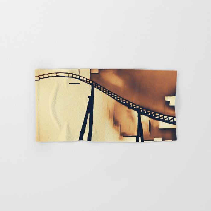 Roller Coaster Hand & Bath Towel