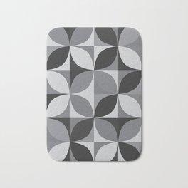 Retro pattern geometric Bath Mat