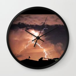 Mister Lightning Wall Clock