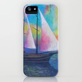 Bodrum Turquoise Coast Gulet Cruise iPhone Case