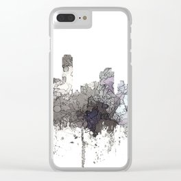 Adelaide, South Australia Skyline - CRISP Clear iPhone Case