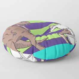 "Jurassic Park ""Died on the Shitter"" Floor Pillow"