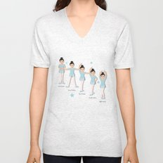 The Ballet Lesson Unisex V-Neck