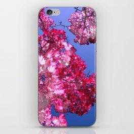 pink tree XI iPhone Skin