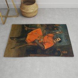 "Gustave Courbet ""Louis Gueymard (1822–1880) as Robert le Diable"" Rug"