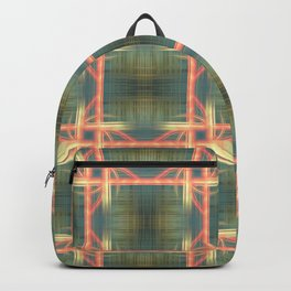Weaving Pattern Backpack