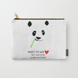 Ways to be in a panda's heart Carry-All Pouch
