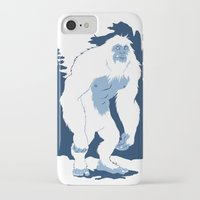 yeti iPhone & iPod Cases featuring Yeti by Rachel Young