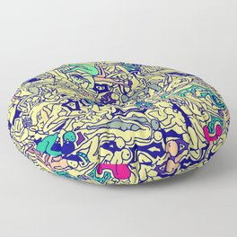 Kamasutra LOVE - Piss Yellow Floor Pillow
