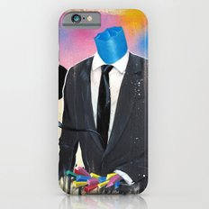 Plasticine man in a suit. iPhone 6s Slim Case