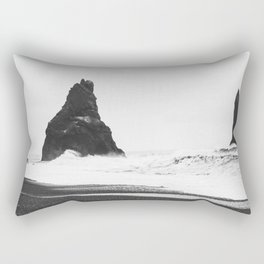 Two Giants on the Ceastline Rectangular Pillow