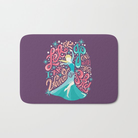 Snow Queen Bath Mat