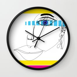 RetroPop Wall Clock