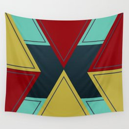 Angled Tribes Wall Tapestry