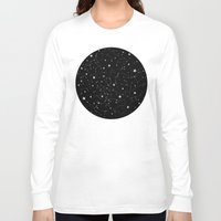 constellations Long Sleeve T-shirts featuring Constellations by Rachel Buske