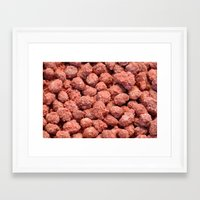 peanuts Framed Art Prints featuring Caramelized peanuts by Gaspar Avila