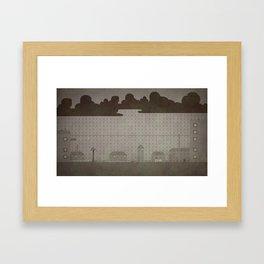 Rainy Scene Framed Art Print