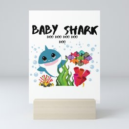 Baby Shark Mini Art Print