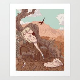 Theophilus Art Print