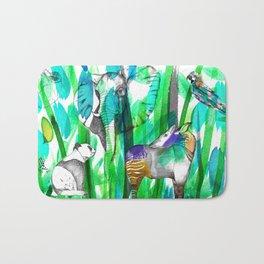 Jungle Green Bath Mat