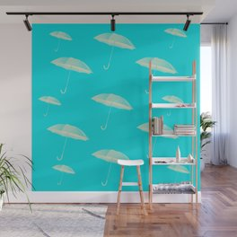 Spring showers Wall Mural