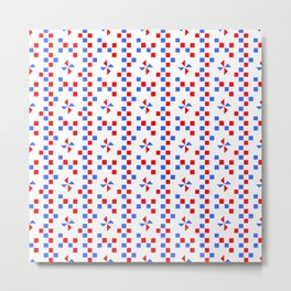 symmetric patterns 108 Metal Print