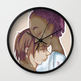 Embracing Me Wall Clock
