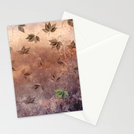 Early Rusty Autumn Stationery Cards