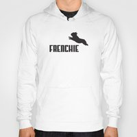 frenchie Hoodies featuring Frenchie by Mr. K