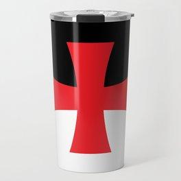 Knights Templar Flag - High Quality Travel Mug