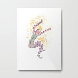 Gesture 03 Metal Print