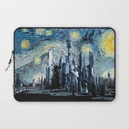 Starry Night Over Atlantis Laptop Sleeve