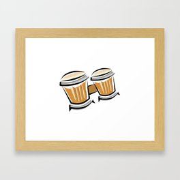 Bongos Framed Art Print