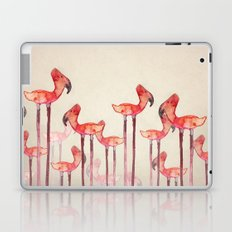 Transmogrified Flamingo Colony Laptop & iPad Skin