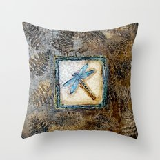 Vintage Impressions * Dragonfly Throw Pillow