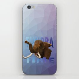 TUNDRA TIME iPhone Skin