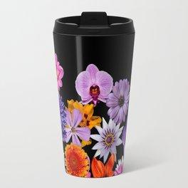 Colorful Flowers Travel Mug