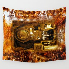 Vintage Victor Camera HDR Wall Tapestry