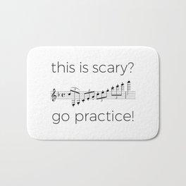 Go practice - clarinet Bath Mat