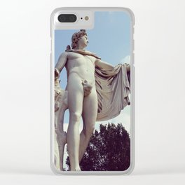 Vintage Stature Clear iPhone Case