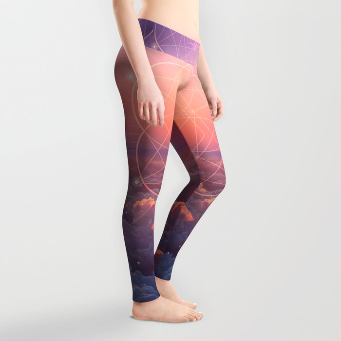 The Sun is but a Morning Star Leggings