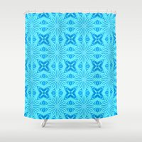 turquoise Shower Curtains featuring turquoise. by 2sweet4words Designs