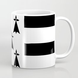 Brittany flag emblem Coffee Mug