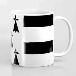 Brittany flag emblem Coffee Mug