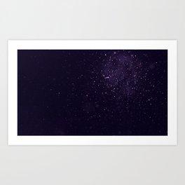 Stars In The Night Art Print