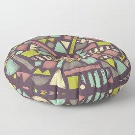 Wheel of life Floor Pillow