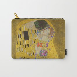 "Gustav Klimt ""The Kiss"" Carry-All Pouch"
