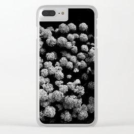 Summer snowballs Clear iPhone Case