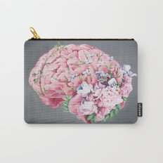 Floral Anatomy Brain Carry-All Pouch