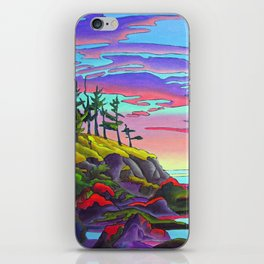 Pacific Pacific by Amanda Martinson iPhone Skin